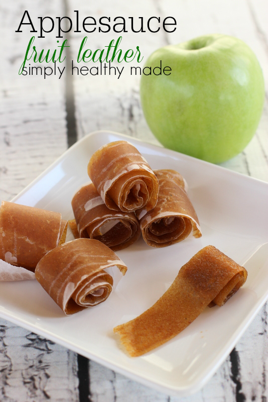 Kids Snack: Applesauce Fruit Leather