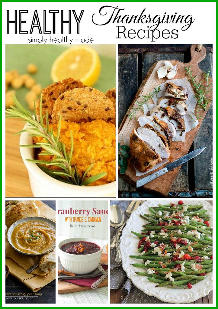 Healthy Thanksgiving Recipe Ideas