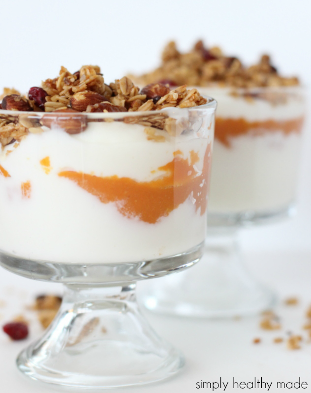 Breakfast, Healthy Breakfast, Pumpkin Parfait, Pumpkin Breakfast
