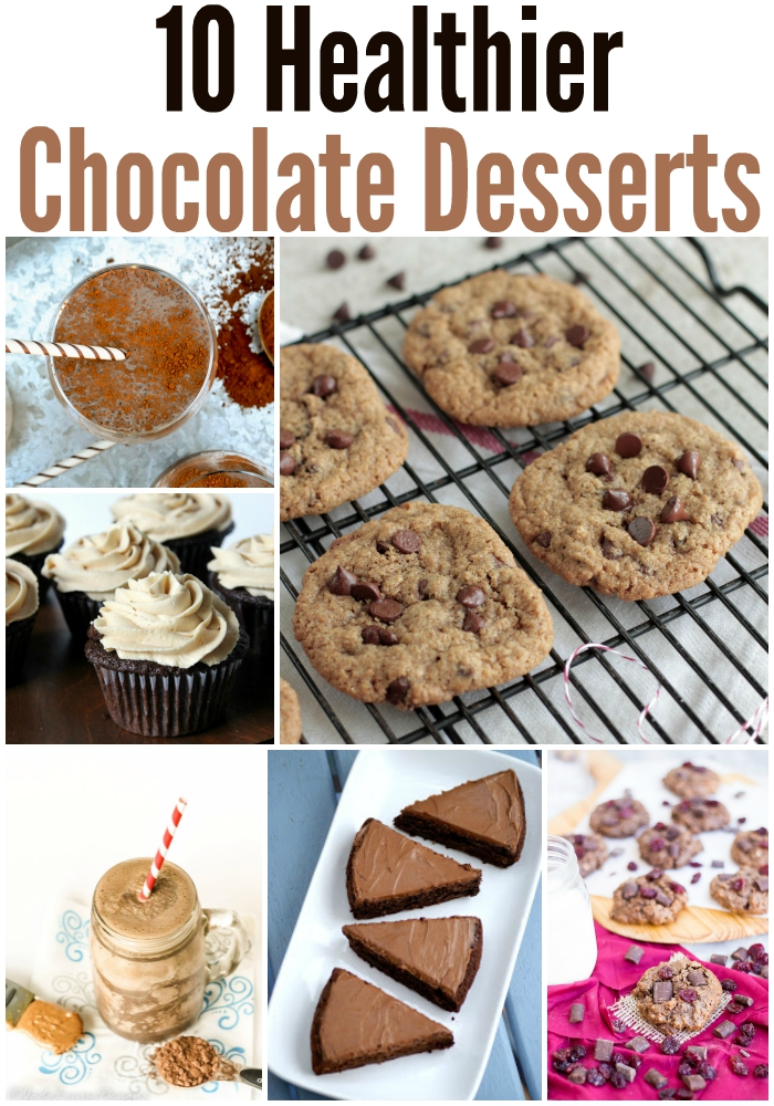 10 Healthier Chocolate Desserts Recipes!
