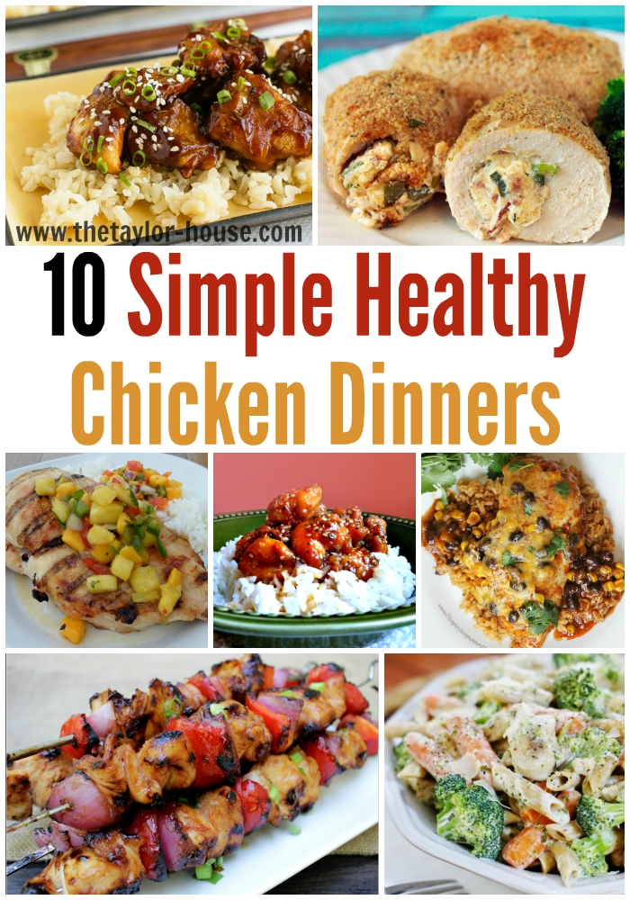 10 Simply Healthy Chicken Recipes